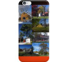 iPhone case Landis Valley Museum Buildings iPhone Case/Skin