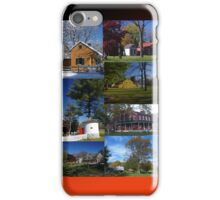 iPhone case Landis Valley Museum Buildings iPhone Case/Skin