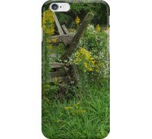 iPhone case Landis Valley Museum Fences 1 iPhone Case/Skin