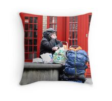 The unexpected Calling Throw Pillow
