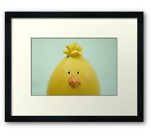 Blank Easter Chick  Framed Print