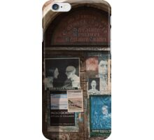 odd bald man billboard iPhone Case/Skin