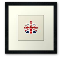 British Coronation Framed Print