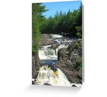 Potato Falls Greeting Card