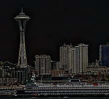 Seattle Skyline by mrthink