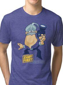 George Shot First Tri-blend T-Shirt