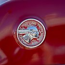 1951 Pontiac Chief Emblem by Jill Reger