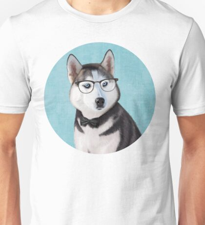 Mr Siberian Husky Unisex T-Shirt