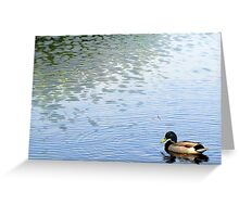 With Wind Ripples Greeting Card
