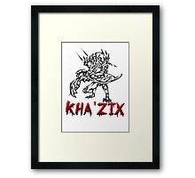 Kha Zix Framed Print