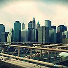 NYC Downtown by Ashok Mani