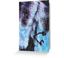 Mary Beyond and the Hands of Fate Greeting Card