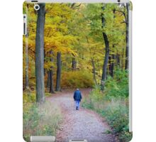 Walk In The Wood iPad Case/Skin