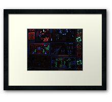 Huichol Art - Arte Huichol Framed Print