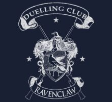 Ravenclaw Duelling Club - White by Mouan