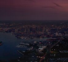 Boston by Night by Kasia-D