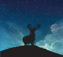 The King Of The Forest by BakmannArt