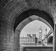 Big ben and bridge by JJFarquitectos