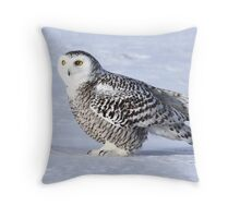 A time to be so small Throw Pillow