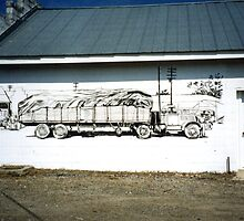 Summerford Mural by Charles Sims