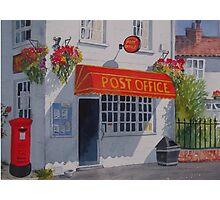 Strensall Post Office Photographic Print