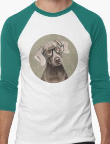 Mr Weimaraner Men's Baseball ¾ T-Shirt