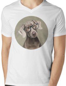 Mr Weimaraner Mens V-Neck T-Shirt