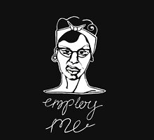 'Employ Me' Rockabilly Illustrated Ink and Digitally Manipulated Art Unisex T-Shirt