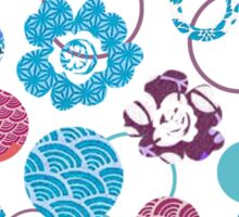 japanese spring blossoms Sticker