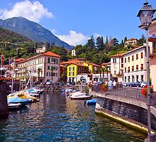 """Town Of Menaggio"" Lake Como, Italy by AlexandraZloto"