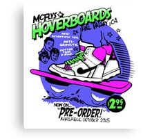 Hoverboards Back To The Future Canvas Print