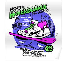 Hoverboards Back To The Future Poster