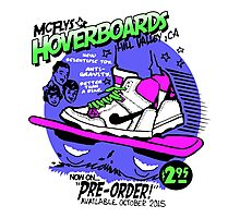 Hoverboards Back To The Future Photographic Print