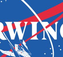 Arwing Sticker
