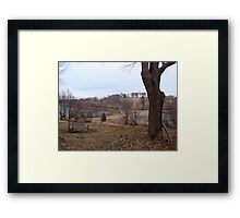 Which path to take? Framed Print