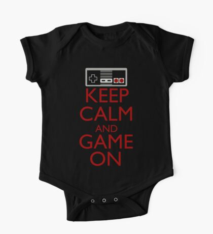 Keep Calm and Game On One Piece - Short Sleeve