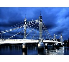 Albert Bridge, London Photographic Print