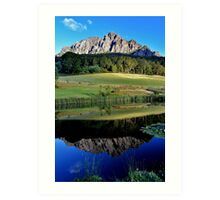 Mount Roland Reflection Art Print