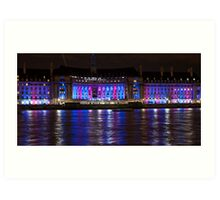Aquarium, County Hall Building London Art Print