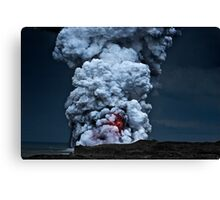 Kilauea Volcano at Kalapana 2 Canvas Print