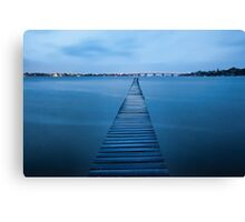 Walk the Plank - Sylvania, NSW Canvas Print