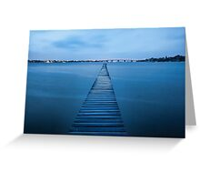 Walk the Plank - Sylvania, NSW Greeting Card
