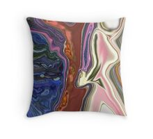 Ground and Shield Throw Pillow