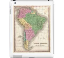 vintage Map of South America iPad Case/Skin