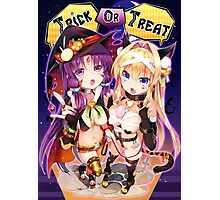 Anime Sexy Halloween Photographic Print