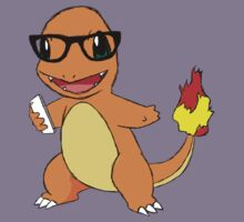 Hipster Charmander by Chrusb