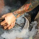 Mondern Farrier, old methods by SylanPhotos