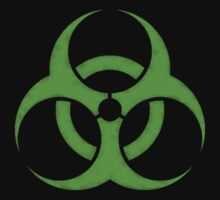 GREEN BIOHAZARD SIGN by SaxonKG5