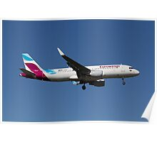 Eurowings Airbus A320 Poster