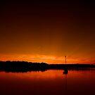 Buzzard Bay Sunset by Jeff Palm Photography